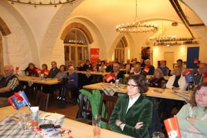 Stimme für Vernunft SPD-UB-GAP, vorne Sigrid Meierhofer