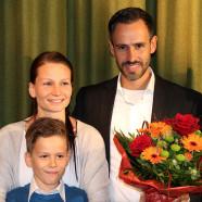 Enrico, Kerstin und Davide Corongiu, Bundestagswahl 2017