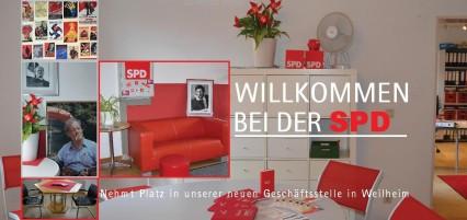 Eröffnung Regionalbüro Weilheim vorne